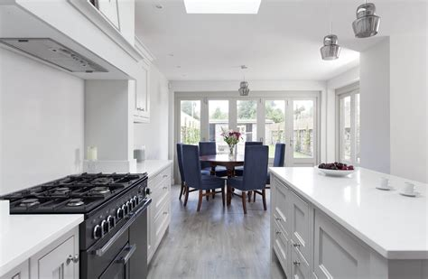 oak and french grey kitchen bespoke design by peter classic style inframe painted white and grey kitchen