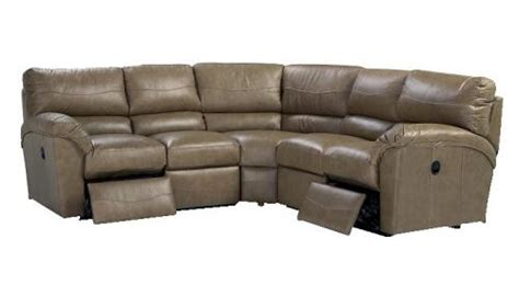 la z boy reese sectional 366 la z boy reese reclining leather sectional steele s