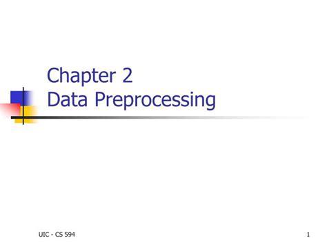Ppt Chapter 2 Data Preprocessing Powerpoint Presentation Ppt Slide 2