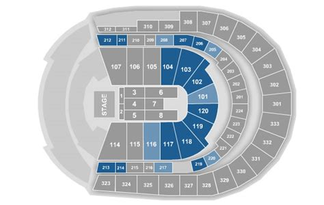 detailed seating chart bridgestone arena nashville tn bridgestone arena seating chart for concerts bridgestone