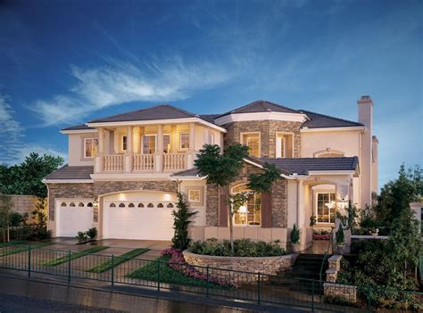 big 2 story houses 2 story homes with balconies home design features an