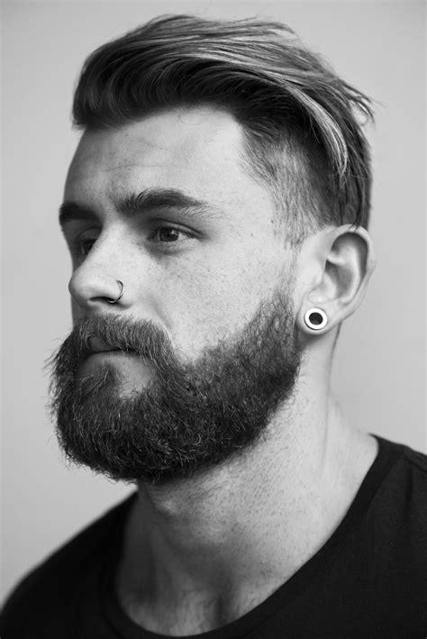 Nathan | Beard styles, Nose piercing, Beard hairstyle