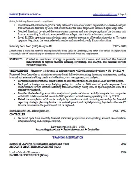 international executive resume resumes and coaching for executives