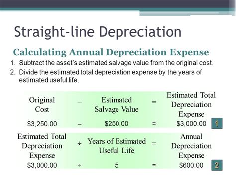 depreciation line accounting for plant assets and depreciation ppt