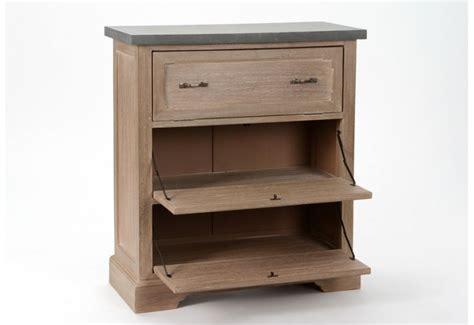 meuble a chaussures 3 tiroirs c 233 rus 233 avec plateau couleur