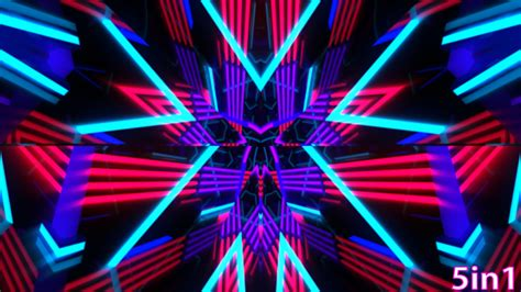 Neon Background Lights by blujewelstudios VideoHive