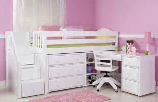 Loft Bed With Study Desk Kids Beds Kids Bedroom Furniture Bunk Beds Amp Storage
