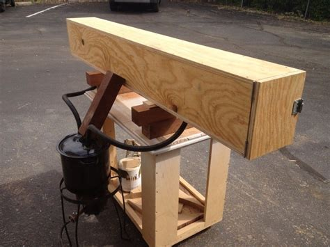 woodworking steam box building a steam box for bending wood woodworking