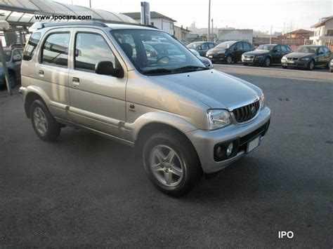 daihatsu terios off road 2005 daihatsu terios sx car photo and specs