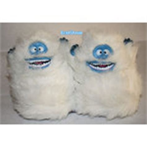 bumble the abominable snowman slippers rudolph nosed reindeer bumble slippers l 9 10