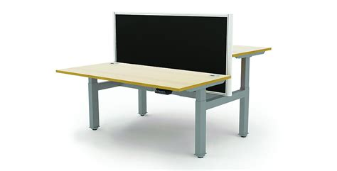 Raise And Lower Desk by Interior Smart Commercial Design Sit Stand Desks