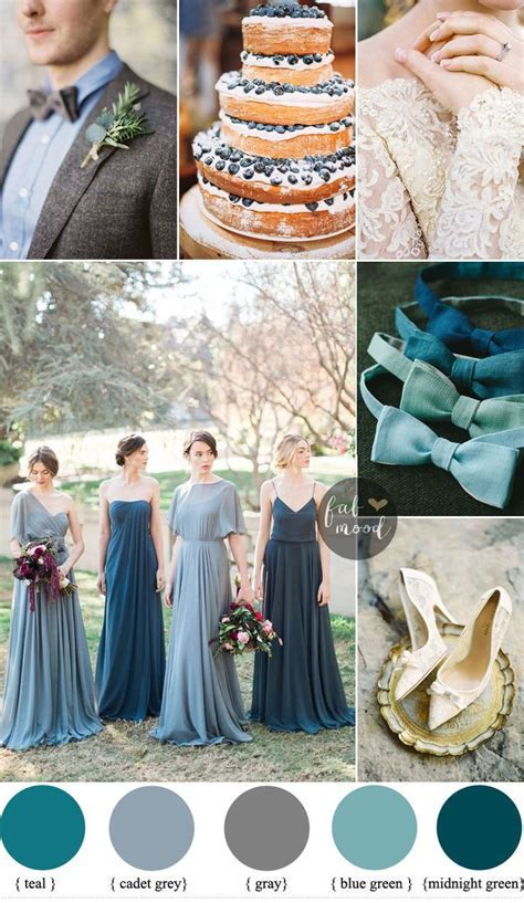 Emerald Teal and Terracotta Color Scheme   Dream Wedding