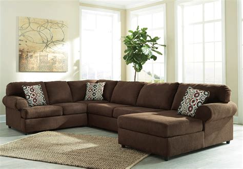 Laf Sofa Sectional Jayceon Java 3pc Laf Sofa Sectional Louisville Overstock Warehouse