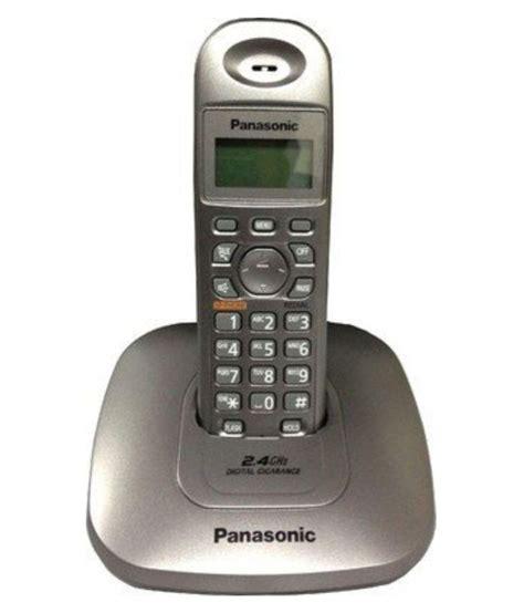 Panasonic Kx Tg 3821 Sx panasonic kx tg 3611sx cordless landline phone black available at snapdeal for rs 2245