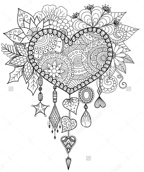 the coloring book for adults you ve probably never colored it shaped floral dreamcatcher