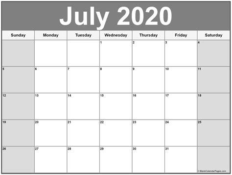 july  printable calendar template calendars printablecalendar monthlycalendar