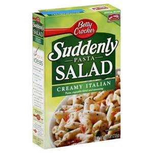 suddenly pasta salad creamy italian recipe photo recipes