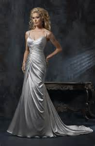 silver wedding dress 17 best ideas about silver wedding dresses on