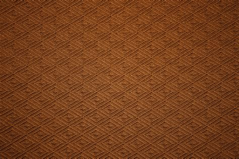 brown pattern free chocolate brown knit fabric with diamond pattern texture