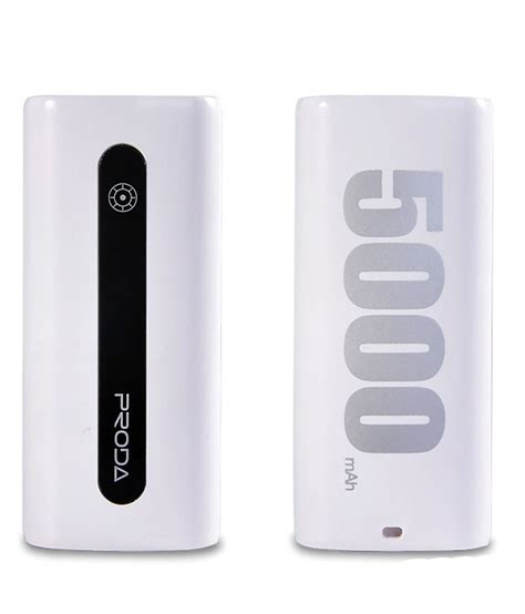 Power Bank Dsbc remax proda e5 5000 mah power bank white power banks at low prices snapdeal india