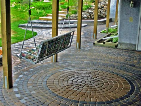 Patio Floor Designs Build A Brick Patio World Of Furniture And Interior Design