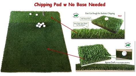 Make Your Own Golf Mat by Apron And Chipping Mat Aids