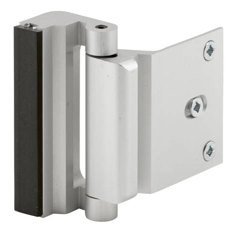 Exterior Door Stop Shop Gatehouse Door Blocker Entry Door Stop Satin Nickel At Lowes