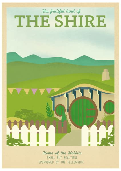 libro the shire cookbook mejores posters fan made de el se 241 or de los anillos cine premiere