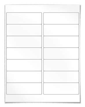 Universal File Folder Labels Template