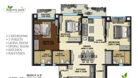 Regency Park Floor Plan | regency park floor plan 1500 sq ft type b