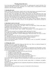 How To Write A Review Essay book review essay writing help and exles