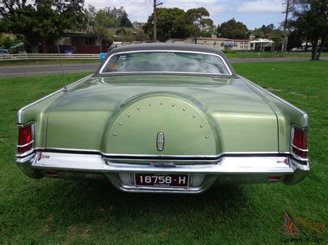 1970 ford lincoln continental 1970 ford lincoln mk 3 continental coupe v8 auto in vic