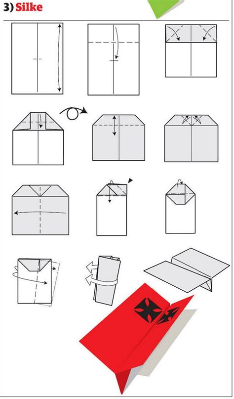 how to make 12 types of paper airplane
