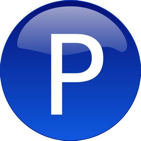 A P P blue p clip at clker vector clip