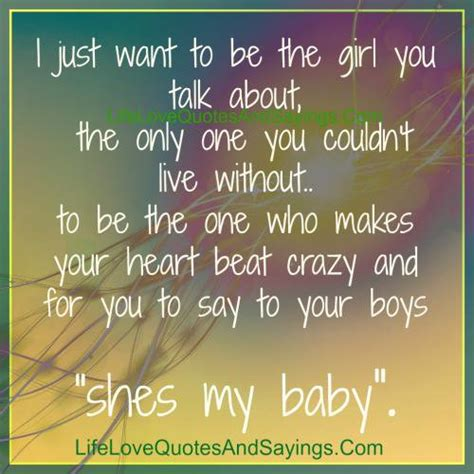 i want to be your i want to be your only one quotes quotesgram