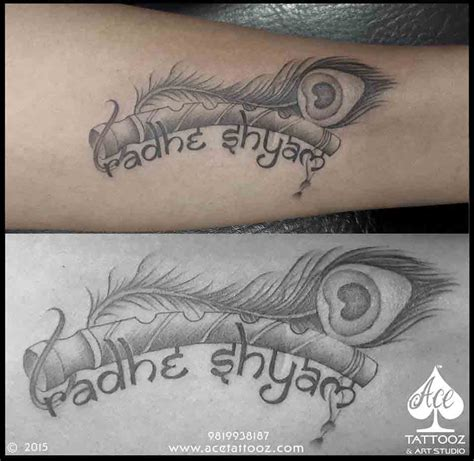 lord krishna tattoo designs ace tattooz amp art studio