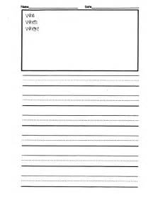 Second Grade Writing Paper Ms M S Blog Writing Paper