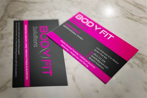La Fitness Business Card Template by Health And Fitness Business Cards Card Design Ideas