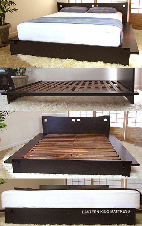 platform beds  platform beds japanese solid wood bed