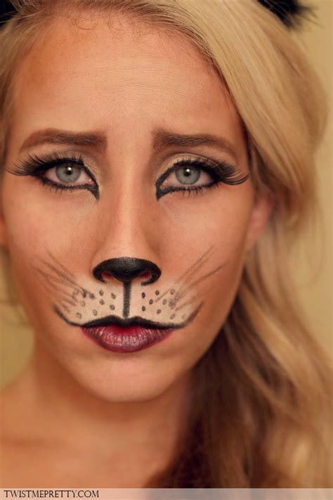leopard makeup tutorial leopard makeup tutorial face leopard makeup and cat