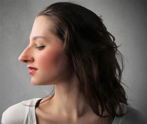 whats more attractive a pixie nose or prominent nose long bob for big nose hairstylegalleries com rhinoplastie
