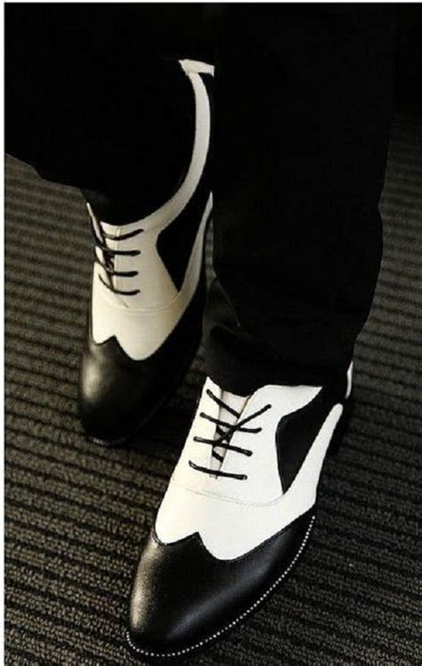 mens black and white oxford shoes handmade mens spectator shoes black and white dress