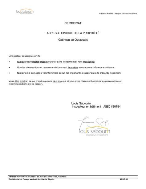 rapport inspection en b 226 timent gatineau
