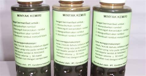 Minyak Ginseng pt cendana indonesia minyak kemiri hazelnut