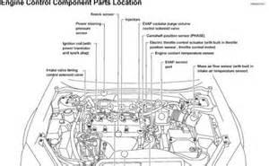 2006 nissan altima camshaft crankshaft sensor engine mechanical