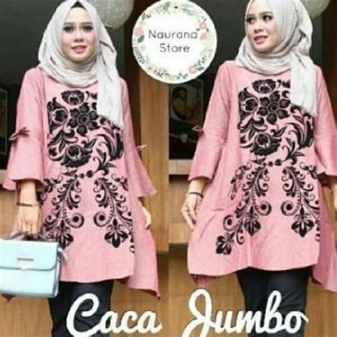 Jual Baju Ukuran Jumbo jual baju muslim caca jumbo grosir baju muslim pakaian