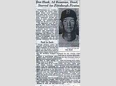 TheDeadballEra.com :: Don Hoak's Obit Unknowns