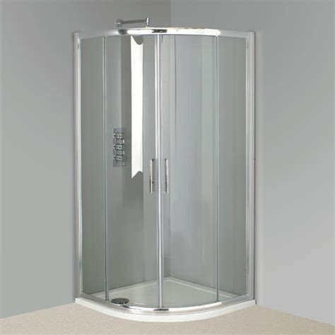 Phoenix Twin Door Offset Quadrant Shower Enclosure 1000 X 800 Shower Door
