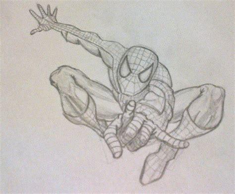imagenes de spiderman para dibujar a lapiz spiderman por luchitayantu dibujando