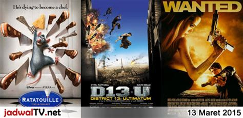 film rekomendasi maret 2015 jadwal film dan sepakbola 13 maret 2015 jadwal tv